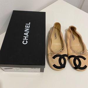Chanel Ballet Flats Size 38